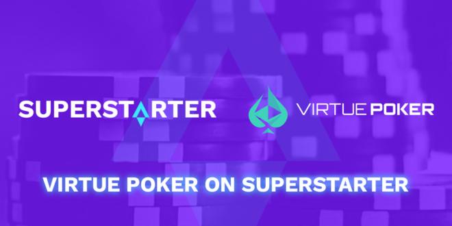 Virtue Poker IDO On SuperStarter startet am 28. Mai