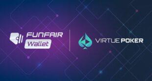 Virtue Poker kündigt die Integration von Funfair Wallet für Spieler von dezentralem Poker an