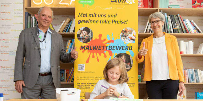 bwegt und die Schweiz starten Malwettbewerb für Kinder