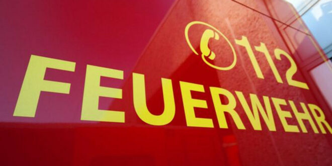 Schriftzug 112 - Feuerwehr. Quelle: Fotolia