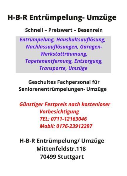 HBR-Entrümpelungen-Umzüge